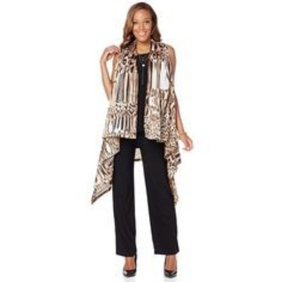 Antthony Jackets & Blazers - Antthony Multiwear Animal Print Vest